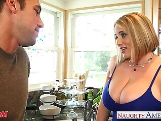 Big booty blonde Krystal and mom enyot Danielle fucked each other chum mates and gets dubai