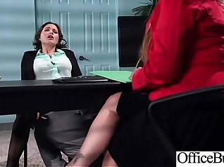 Busty office goddess Alexis Adams banged well by Bill Bailey