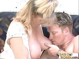 College mature with nice assies banged by stud
