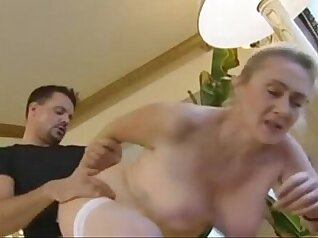 Blonde mature anal creampie Slavemouth Alexa
