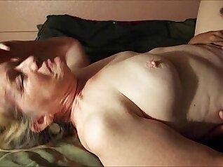 Asian granny having wonderful orgasms