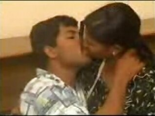 Busty Indian couple suck, fuck and eat french melons