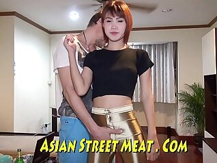 Appealing Asian cutie got sperm all over her beaver in missionary position