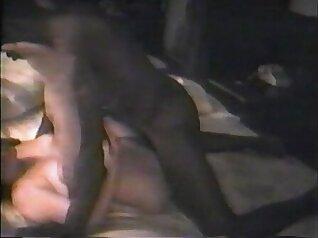 Black dick turns on man his wife