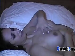 Cuckold Masseuse Sissy Couple Sex with BBC bull