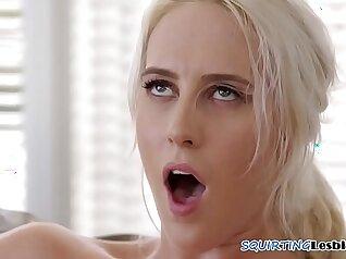 Brazillian`s Split As Lesbian Mackerel Squirting Orgasm