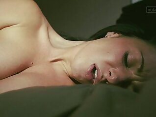 Beautiful cutie ride her friends dick to orgasm