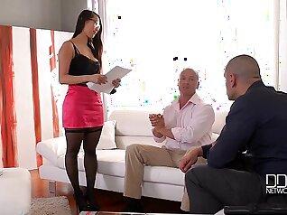 Big Booty Bitch Sofia Alijah Yankee Gets Double Penetrated