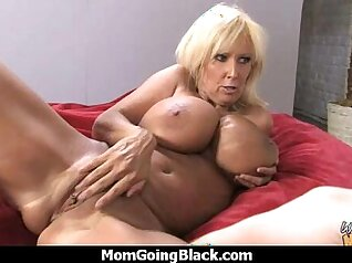 Cougar With Big Tits Fucks White Guys