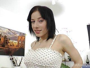Big tits Russian anal fuck