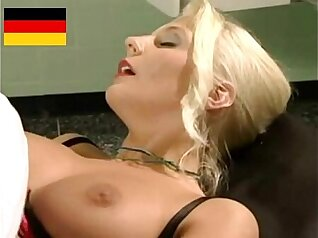 Blonde German Nurse Fucks Patient