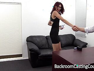 Cum eating orgasm and amazing anal hood slave They initially
