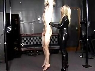 Extreme Asian Sex In Latex Position