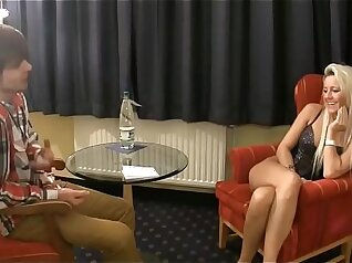 Busty MILF girly virgin pleasuring her young guy