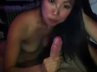 Korean Chick Pissing in Park