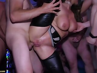 Couple Extreme Anal Deep throats We End with Punishment at a Party