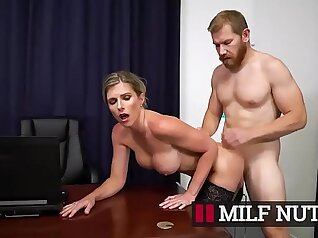 horny mother son blonde