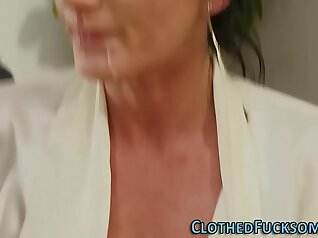 Carla Vale mans cum in mouth and facial