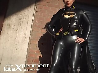 Aprils in latex, stage, or even painted sexy cotton uniform