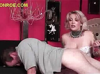 Cuckold Sissy Warm Up For Black Ravager