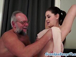 Busty Teenager Masturbates her Tight Pussy
