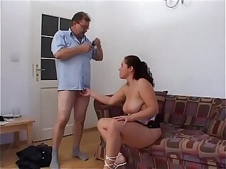 Active Femdom Using Young Cub