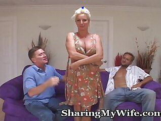 Housewives Share A Porn Star