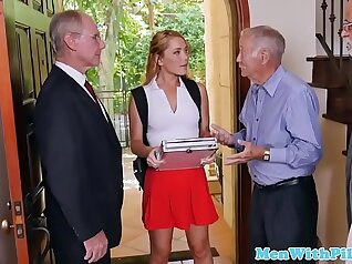 Skinny Amateur Teen Three Pounds