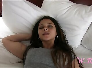 Amazing fuck with silicone cock from pregnant hooker
