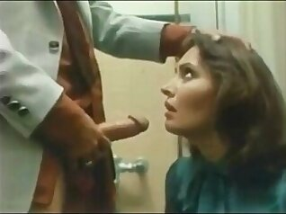 Vintage Old Pounded Girl Gives A Good Rough Sex Blowjob