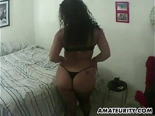 Amateur Busty Wife BBW Taped