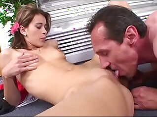 Chefs Daughter Comes Horny for Her Dad - Blackout Pictures
