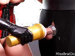 Collared Slave Gets Ready For Her Masturbation